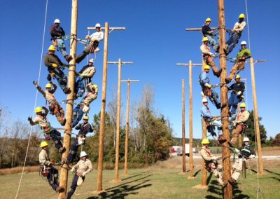 Lineman Christmas Tree